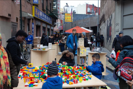 Help NYC DOT Activate Public Space - including Weekend Walks, Seasonal Streets, and Pedestrian Plazas