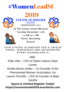 #WomenLeadSI 2019 is a part conference, part workshop, part networking with a panel discussion and a virtual and in-person workshop that will create teams that will collaborate on action plans to enable/empower/promote women as leaders.